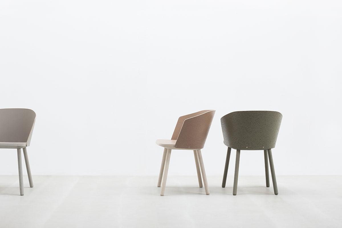 M bel design holz schale linoleum nachhaltig hussl linoc for Stuhl design entwicklung